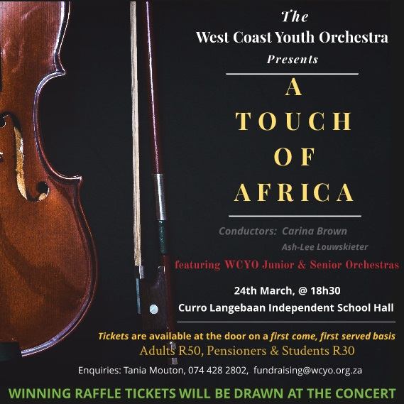 A Touch of Africa - WCYO Concert 24 March